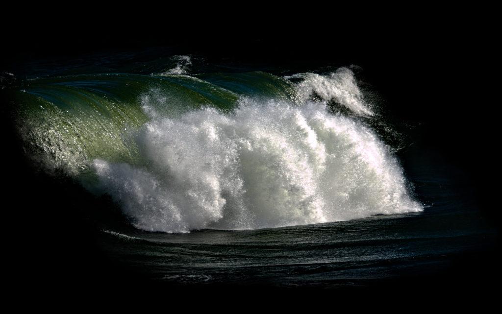 Dark waves at Havsvidden, The Åland Isalnds.