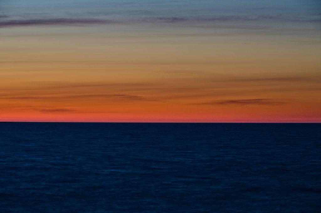 Norrhavet som en målning sedd från Geta. Åland. Photographic Steps.