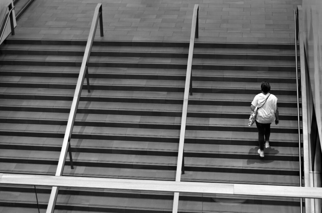 The stairs at Stockmann in Åbo /Turku. Photographic Steps.